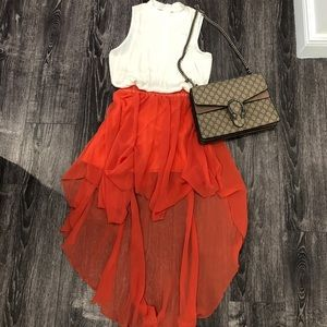 Dresses & Skirts - High-low asymmetrical skirt.